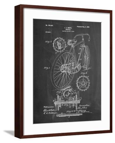 Eagle Quad Racing Bicycle-Cole Borders-Framed Art Print