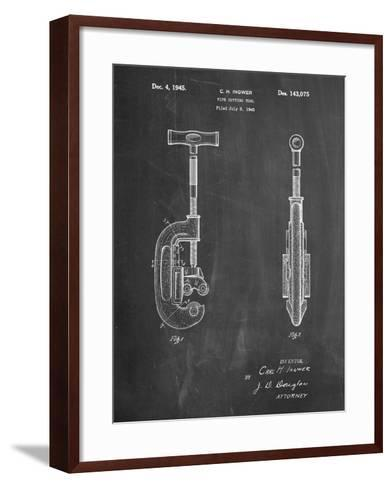 Pipe Cutting Tool Patent-Cole Borders-Framed Art Print