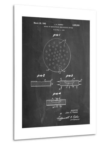 Transistor Semiconductor Patent-Cole Borders-Metal Print