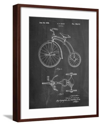 Tricycle Patent-Cole Borders-Framed Art Print