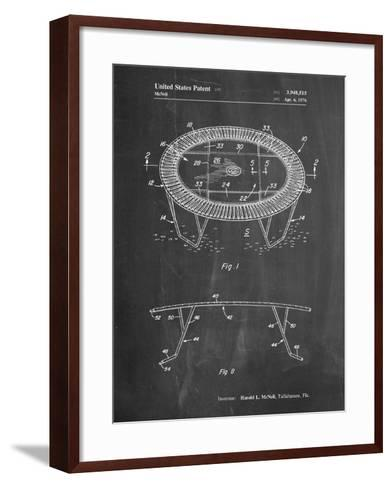 Trampoline Patent-Cole Borders-Framed Art Print