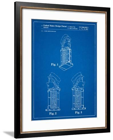 Pez Dispenser Patent-Cole Borders-Framed Art Print