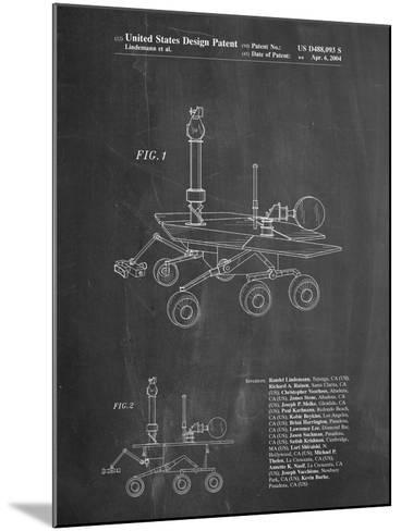 Mars Rover Patent-Cole Borders-Mounted Art Print