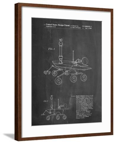 Mars Rover Patent-Cole Borders-Framed Art Print