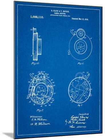 Bausch and Lomb Camera Shutter Patent-Cole Borders-Mounted Art Print