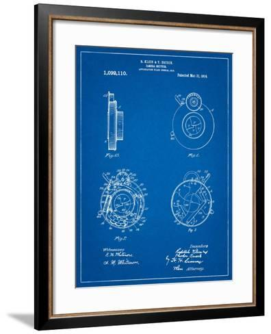 Bausch and Lomb Camera Shutter Patent-Cole Borders-Framed Art Print