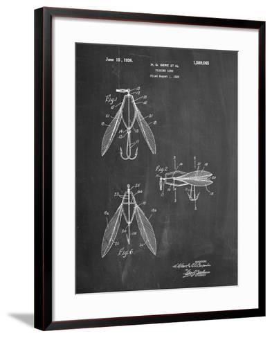 Surface Fishing Lure Patent-Cole Borders-Framed Art Print
