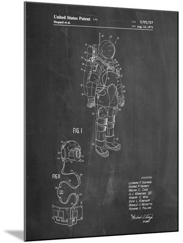 Apollo Space Suit Patent-Cole Borders-Mounted Art Print