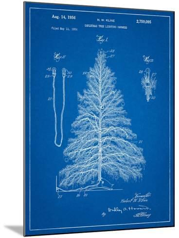 Christmas Tree-Cole Borders-Mounted Art Print