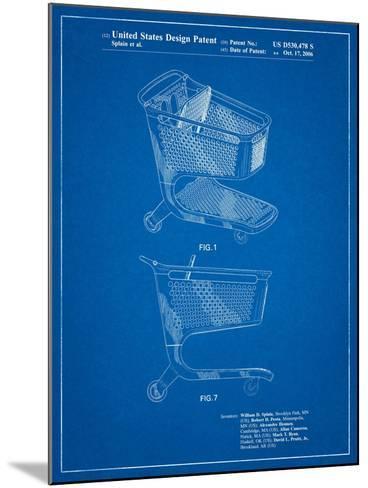 Target Shopping Cart Patent-Cole Borders-Mounted Art Print