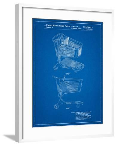 Target Shopping Cart Patent-Cole Borders-Framed Art Print