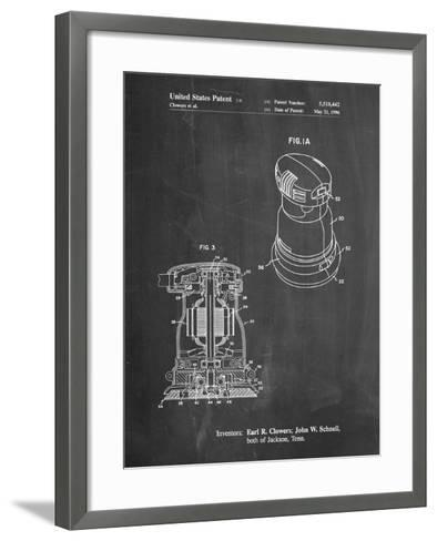 Porter Cable Palm Grip Sander Patent-Cole Borders-Framed Art Print