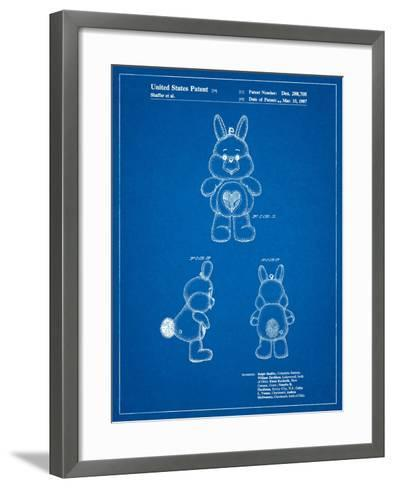 Swift Heart Rabbit Care Bear-Cole Borders-Framed Art Print