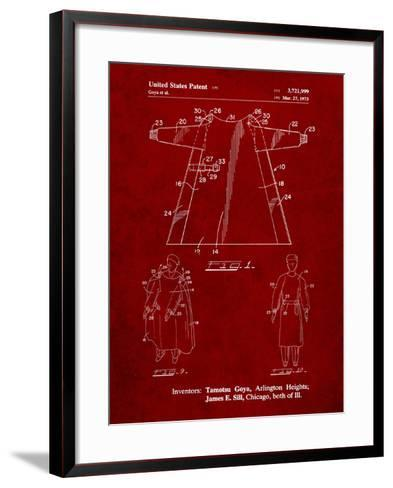 Surgical Gown Patent Print-Cole Borders-Framed Art Print