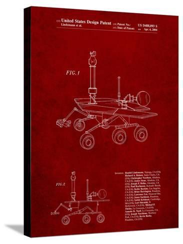 Mars Rover Patent-Cole Borders-Stretched Canvas Print
