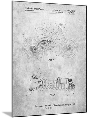 Bicycle Shock Art-Cole Borders-Mounted Art Print
