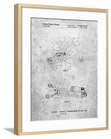 Bicycle Shock Art-Cole Borders-Framed Art Print