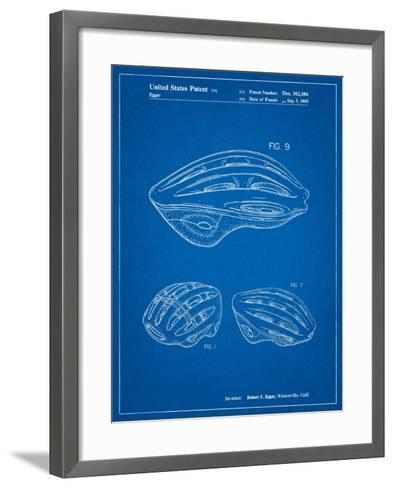 Bicycle Helmet Patent-Cole Borders-Framed Art Print