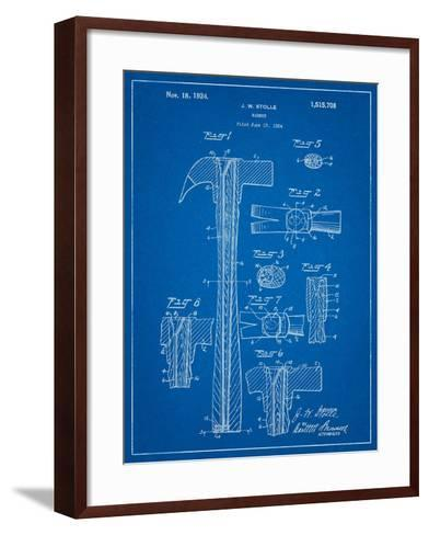 Claw Hammer Patent-Cole Borders-Framed Art Print