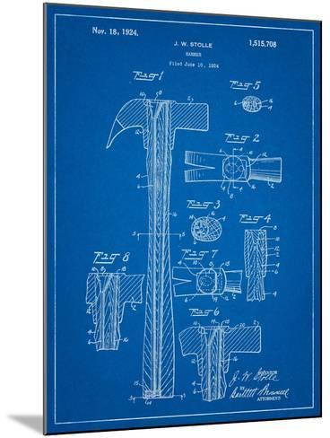 Claw Hammer Patent-Cole Borders-Mounted Art Print