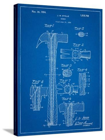 Claw Hammer Patent-Cole Borders-Stretched Canvas Print
