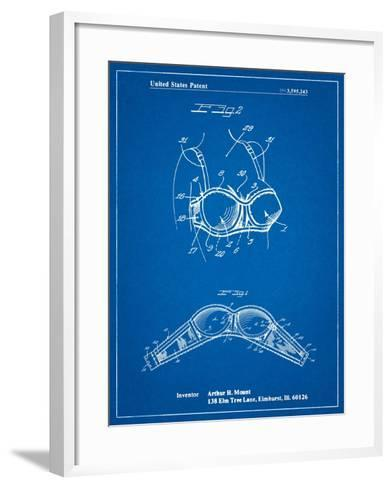 Push-Up Bra Patent-Cole Borders-Framed Art Print