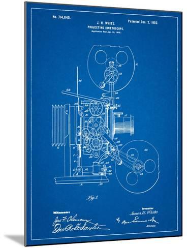 Projecting Kinetoscope Patent-Cole Borders-Mounted Art Print