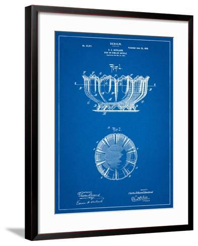 Haviland Decorative Bowl Patent-Cole Borders-Framed Art Print