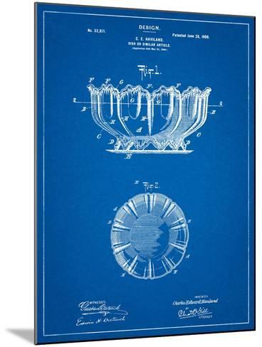 Haviland Decorative Bowl Patent-Cole Borders-Mounted Art Print