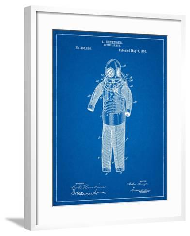 Hemenger Diving Armor-Cole Borders-Framed Art Print