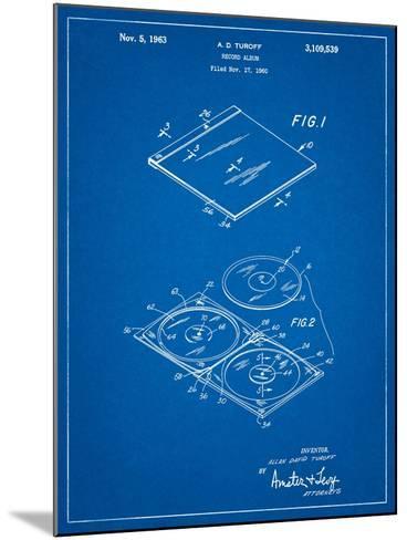 Record Album Patent-Cole Borders-Mounted Art Print