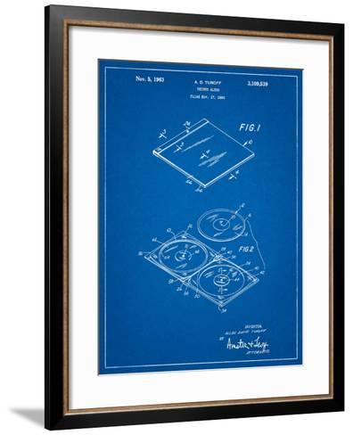 Record Album Patent-Cole Borders-Framed Art Print
