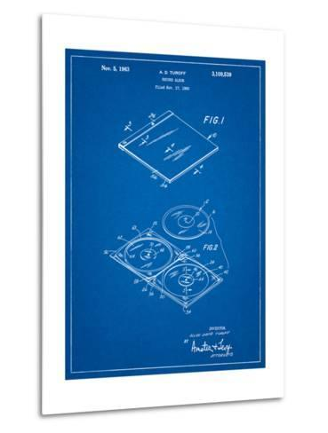 Record Album Patent-Cole Borders-Metal Print