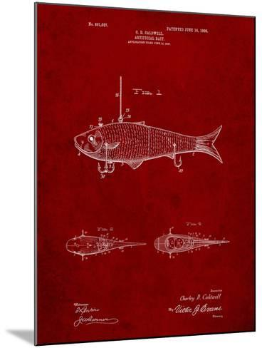 Fishing Artificial Bait-Cole Borders-Mounted Art Print