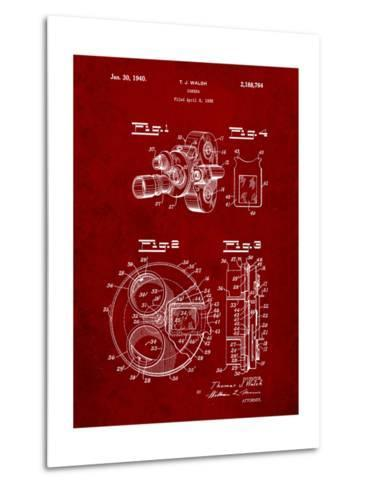 Bell and Howell Color Filter Camera Patent-Cole Borders-Metal Print