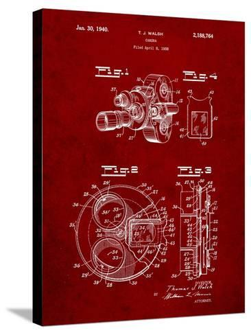 Bell and Howell Color Filter Camera Patent-Cole Borders-Stretched Canvas Print