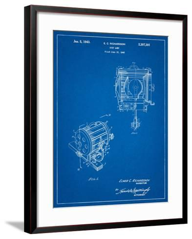 Movie Set Lighting Patent-Cole Borders-Framed Art Print