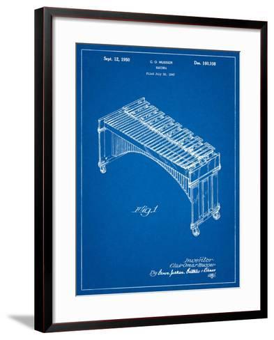 Musser Marimba Patent-Cole Borders-Framed Art Print