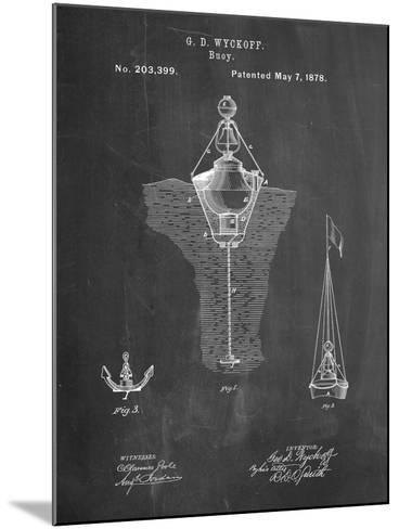 Water Buoy Patent-Cole Borders-Mounted Art Print