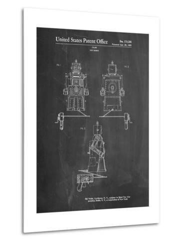 Robert the Robot 1955 Toy Robot Patent-Cole Borders-Metal Print
