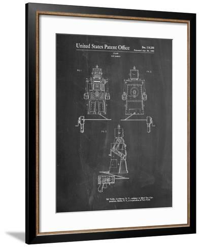 Robert the Robot 1955 Toy Robot Patent-Cole Borders-Framed Art Print