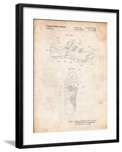 Cycling Shoes Patent-Cole Borders-Framed Art Print