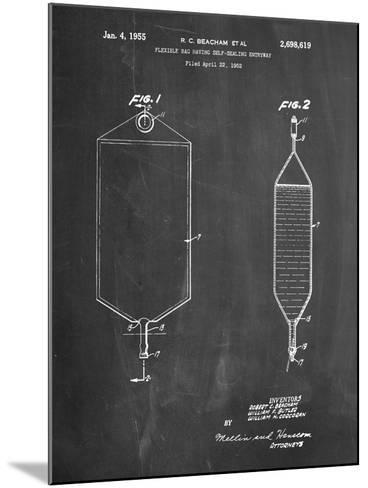 I.V. Bag Patent-Cole Borders-Mounted Art Print