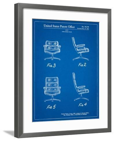 Eames Upholstered Chair Patent-Cole Borders-Framed Art Print
