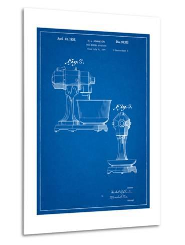 Kitchenaid Mixer Patent-Cole Borders-Metal Print