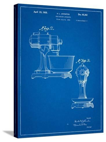 Kitchenaid Mixer Patent-Cole Borders-Stretched Canvas Print