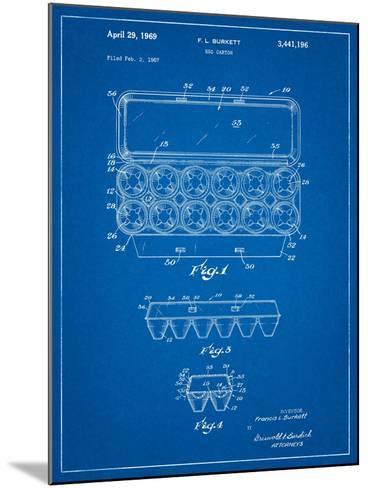Egg Carton Patent-Cole Borders-Mounted Art Print