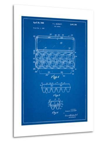 Egg Carton Patent-Cole Borders-Metal Print