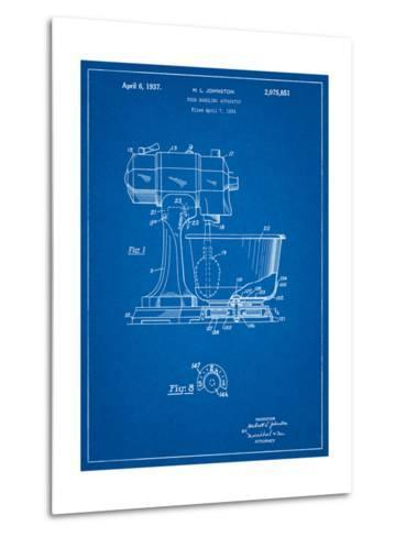 Kitchenaid Kitchen Mixer Patent-Cole Borders-Metal Print