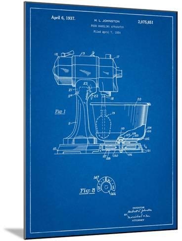 Kitchenaid Kitchen Mixer Patent-Cole Borders-Mounted Art Print